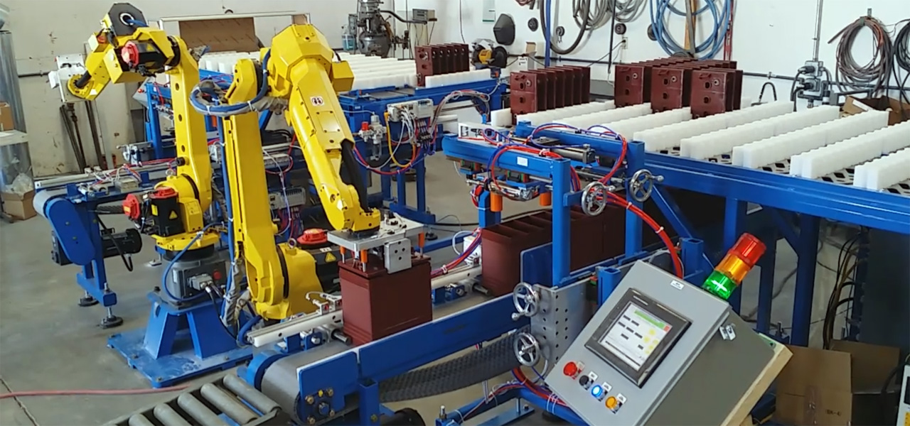 Automation Engineering Lid Placer